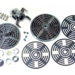 DEA/DCA: Dampening Elastic Metal Plate Valves